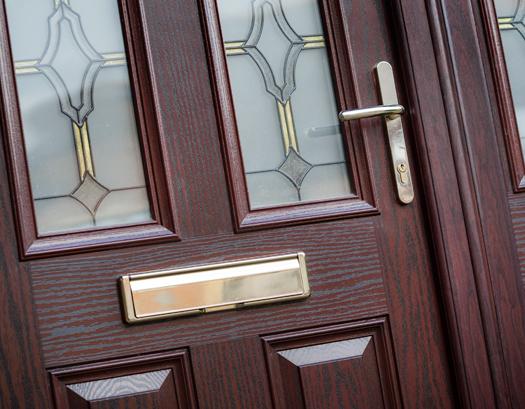 Composite door finishing touches & Finishing Touches | YO1 UPVC